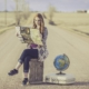 Viaggiatrice - traveller - Viaggiatrice