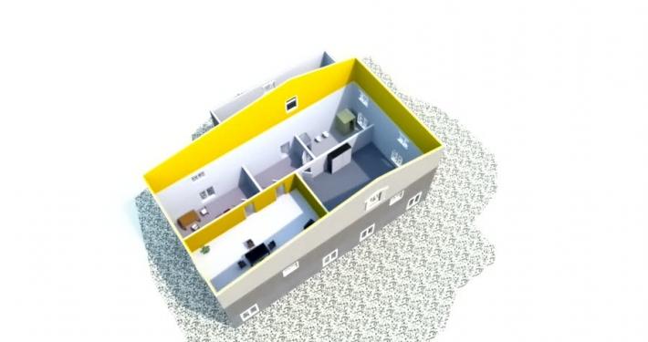 Foto rappresentativa di planimetria 3D