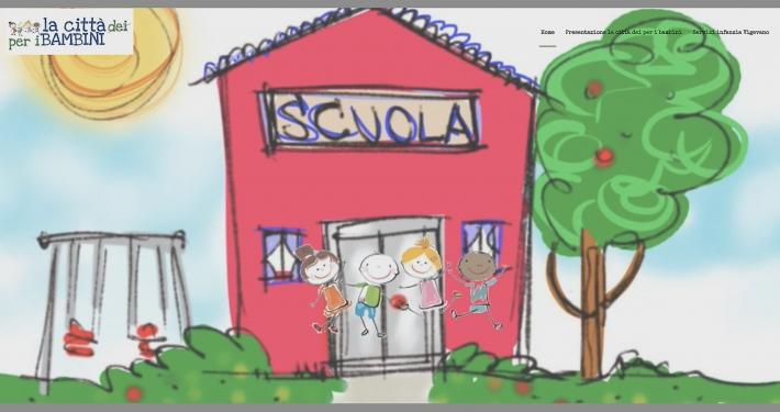 Sito web la Città dei per i Bambini