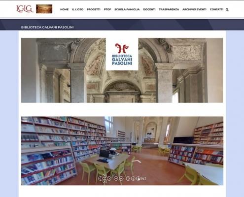 Sito del Liceo Galvani Pasolini di Bologna