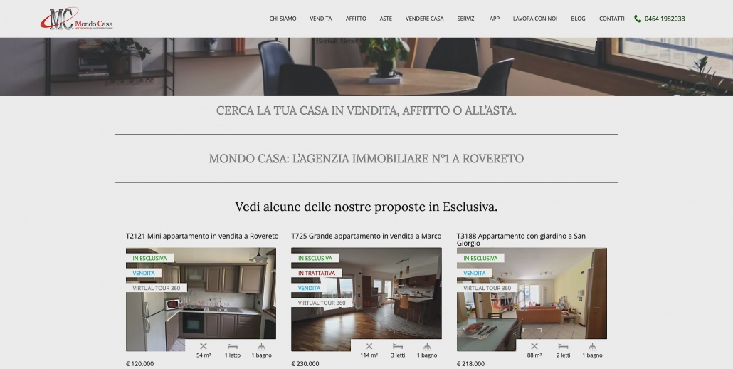 Virtual Tour Immobiliari per siti web e IDEALISTA