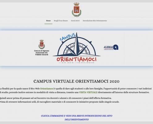 Sito web dell'orientamento didattico